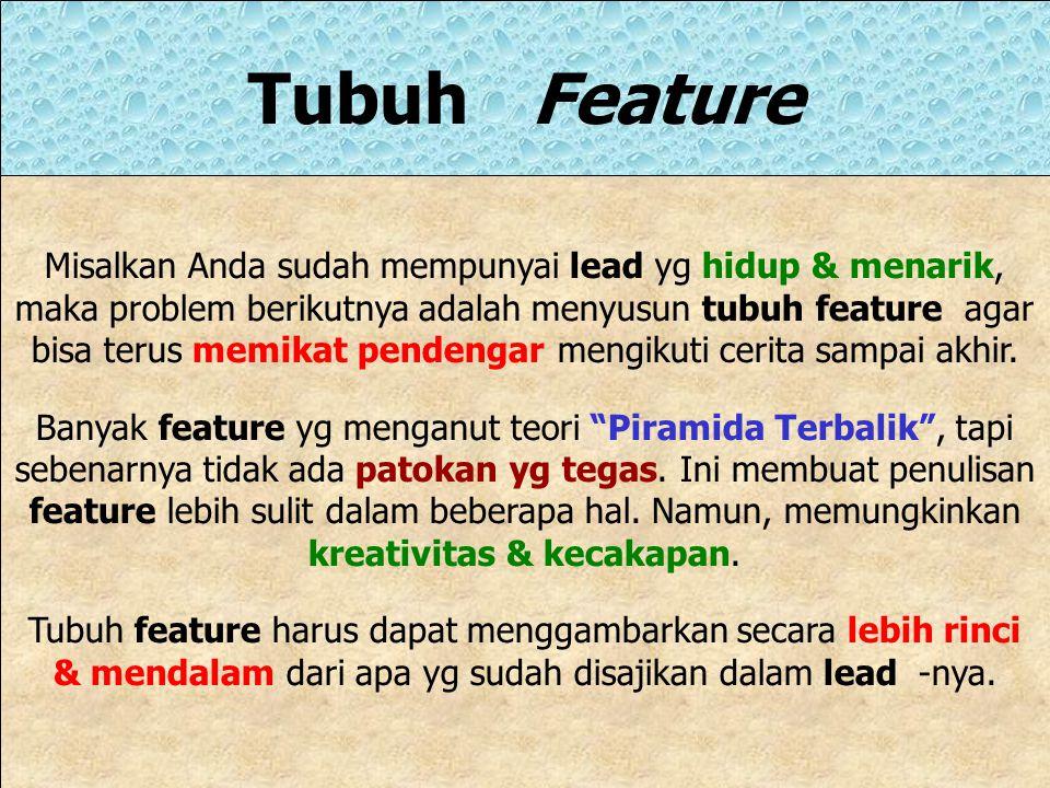 Tubuh Feature
