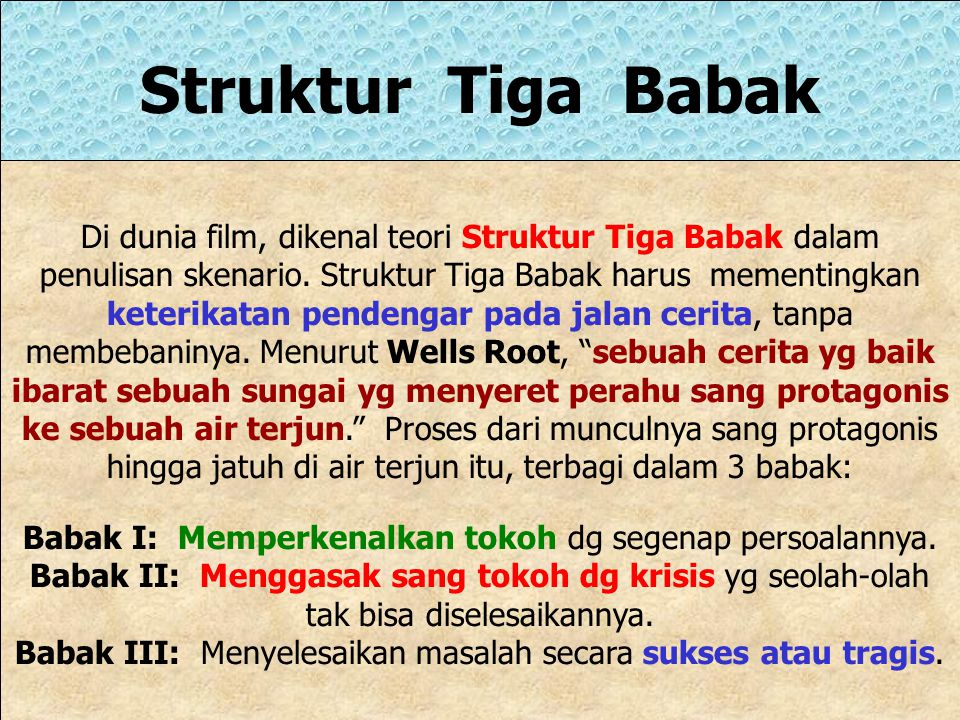 Struktur Tiga Babak