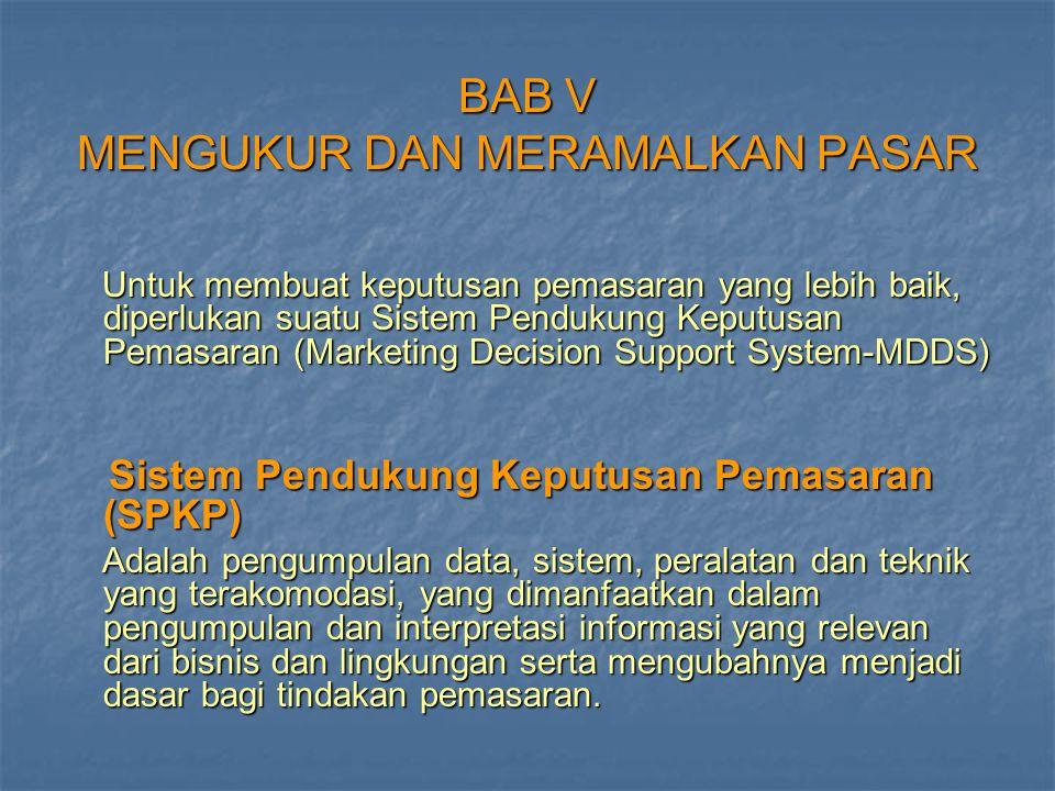 BAB V MENGUKUR DAN MERAMALKAN PASAR