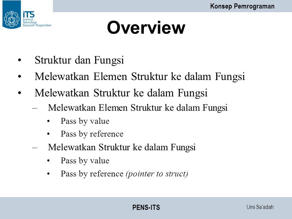 Overview Struktur dan Fungsi