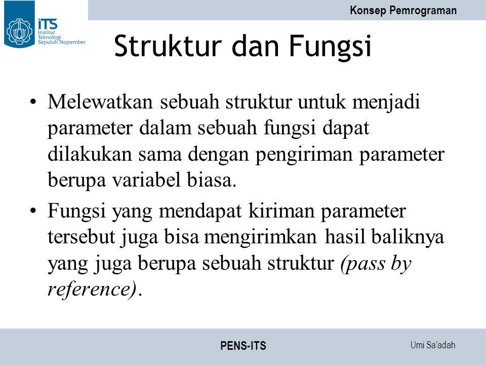 Struktur dan Fungsi