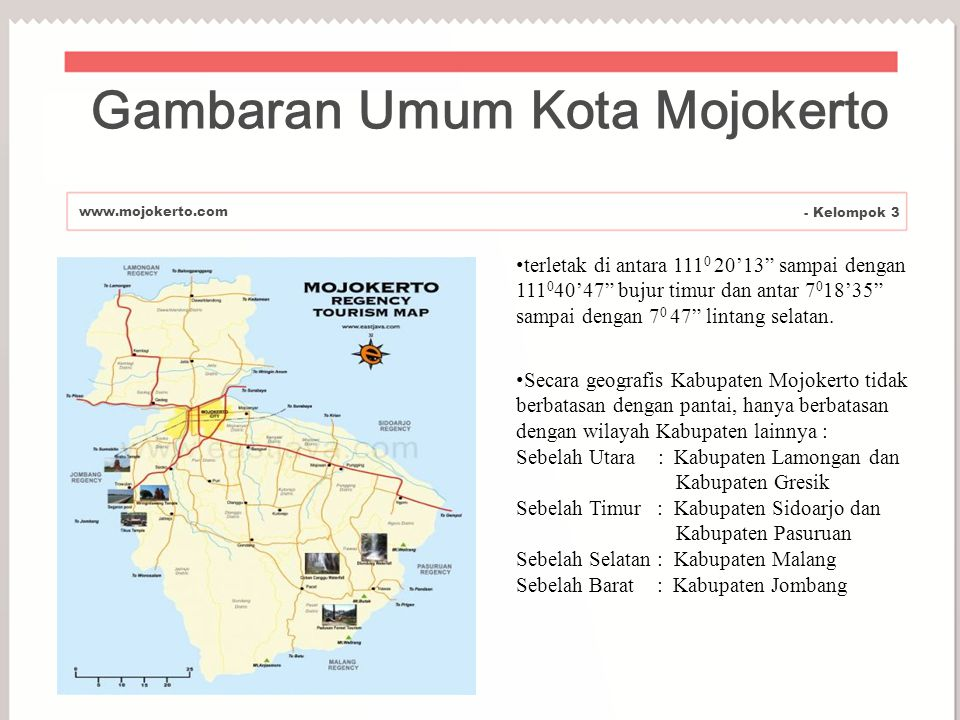 Gambaran Umum Kota Mojokerto
