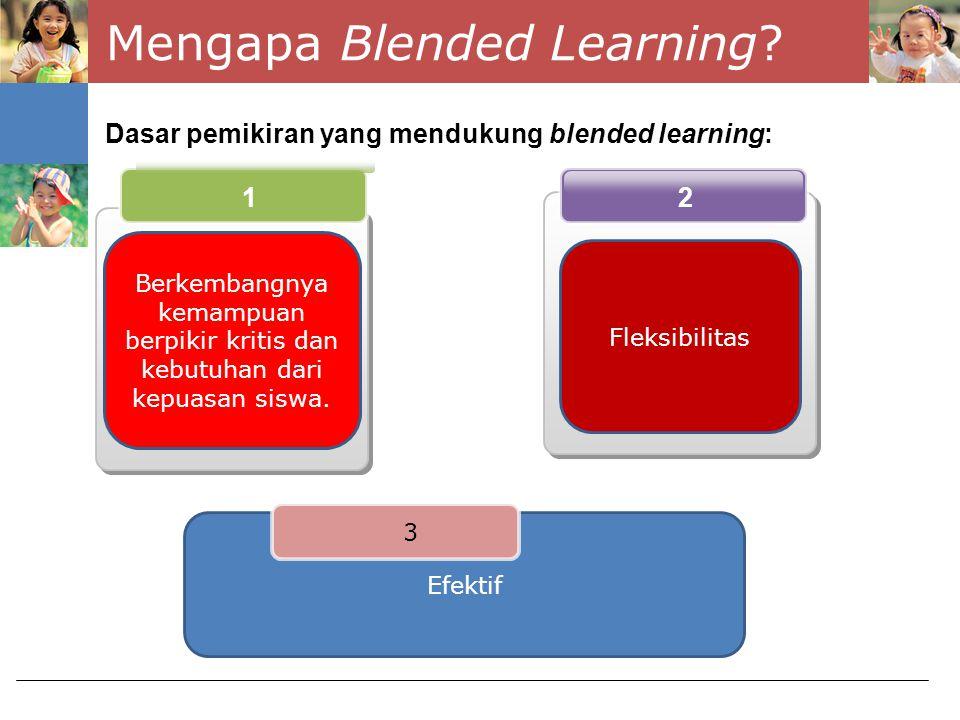 Mengapa Blended Learning