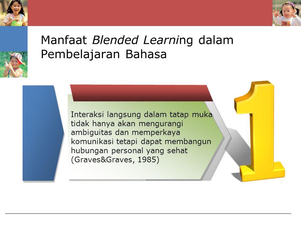 Manfaat Blended Learning dalam Pembelajaran Bahasa