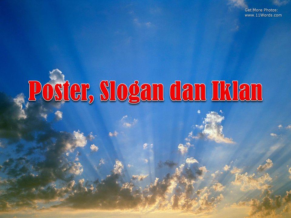 Poster, Slogan dan Iklan