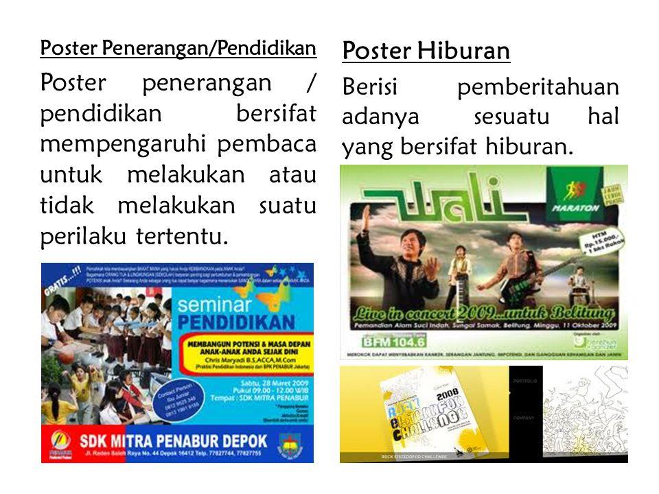 Poster Penerangan/Pendidikan