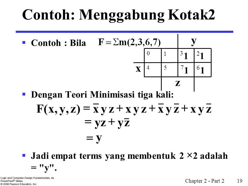 Contoh: Menggabung Kotak2
