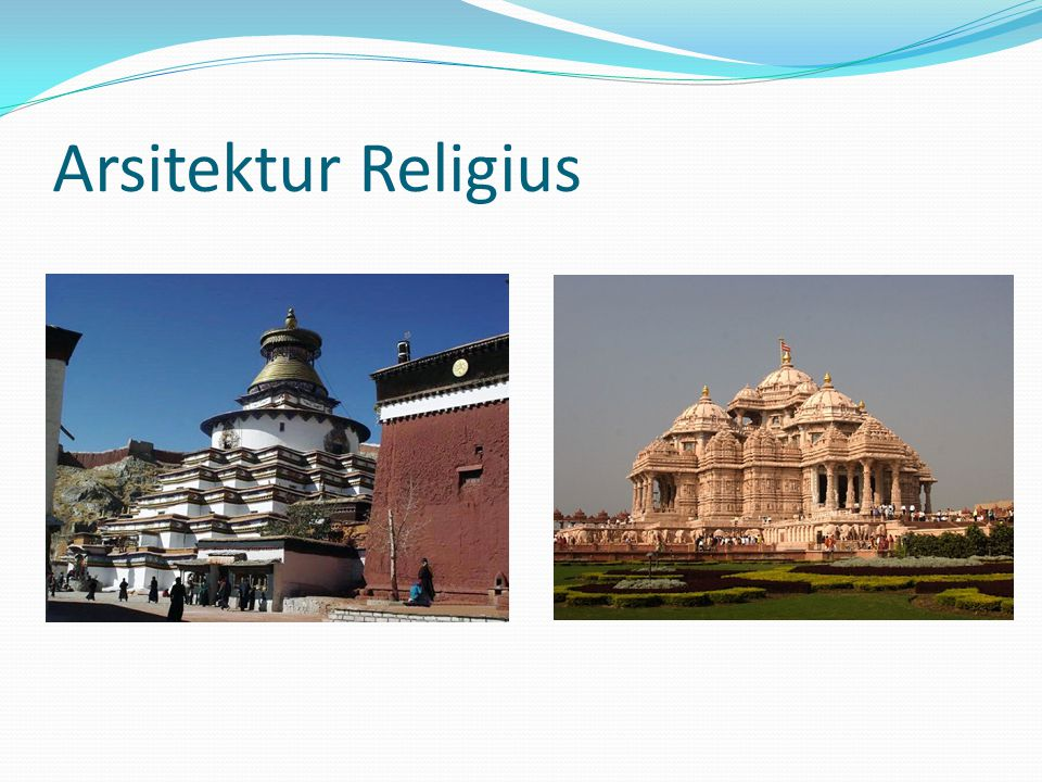 Arsitektur Religius