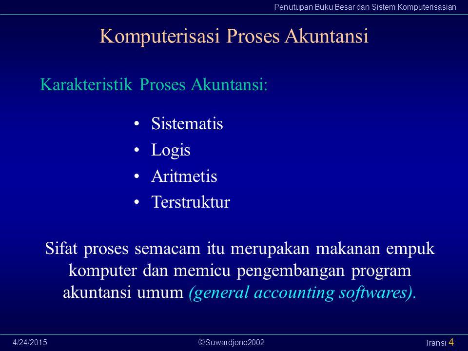 Komputerisasi Proses Akuntansi