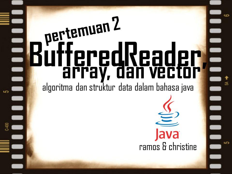 algoritma dan struktur data dalam bahasa java ramos & christine