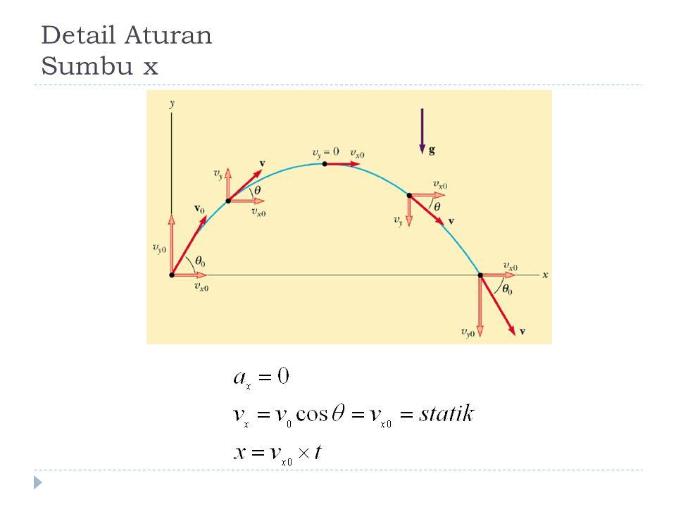 Detail Aturan Sumbu x