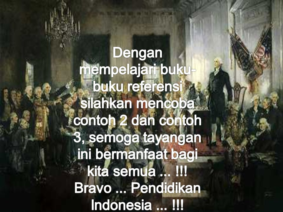Bravo ... Pendidikan Indonesia ... !!!