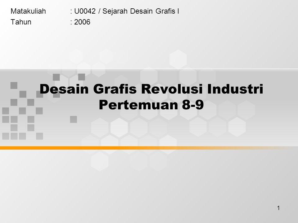 Desain Grafis Revolusi Industri Pertemuan 8-9