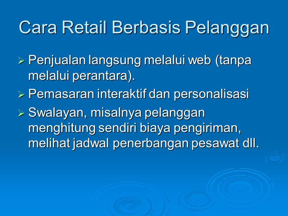 Cara Retail Berbasis Pelanggan