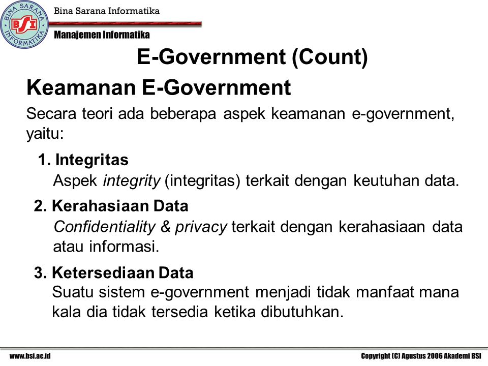 Keamanan E-Government