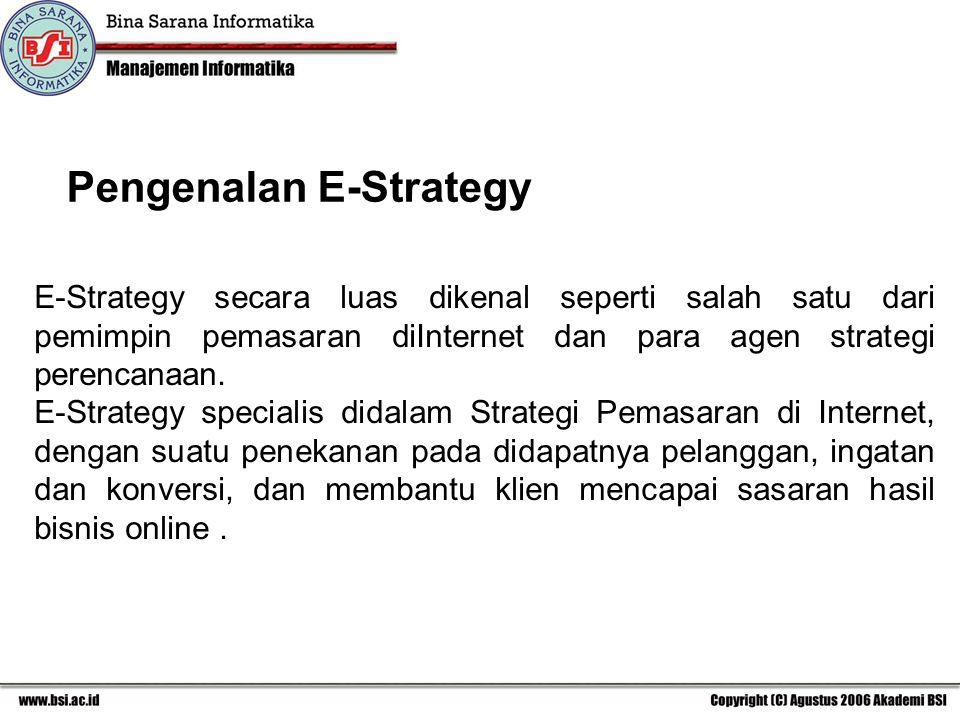 Pengenalan E-Strategy