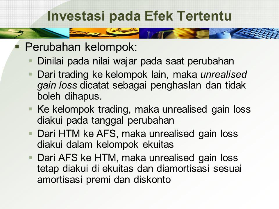 Investasi pada Efek Tertentu