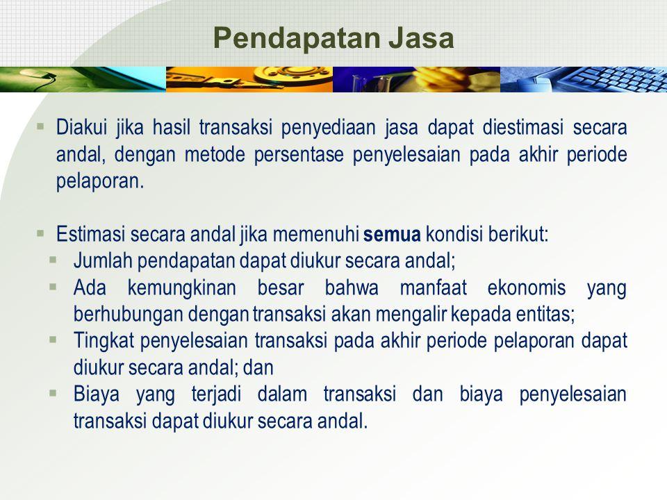 Pendapatan Jasa