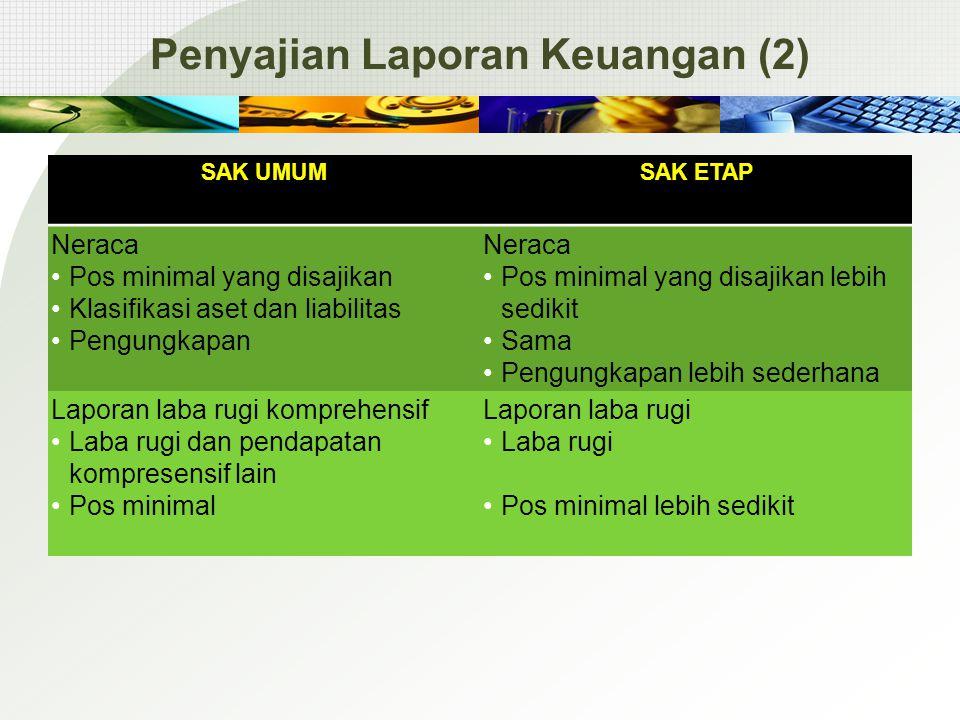 Penyajian Laporan Keuangan (2)