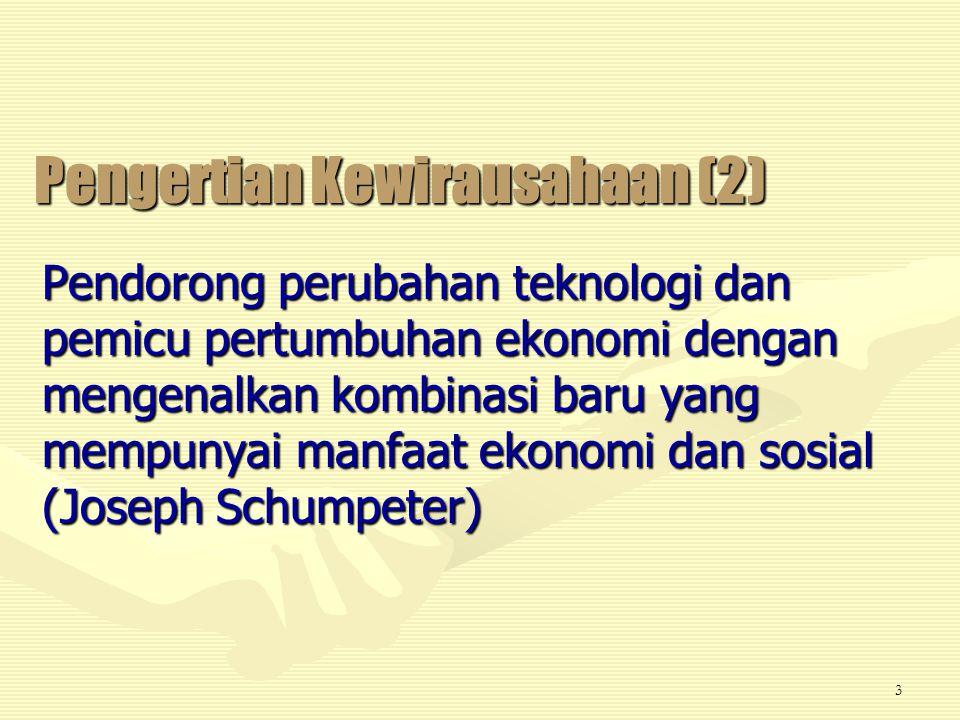 Pengertian Kewirausahaan (2)