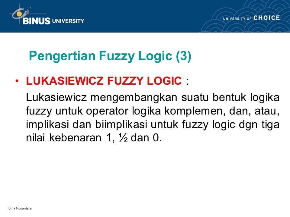Pengertian Fuzzy Logic (3)