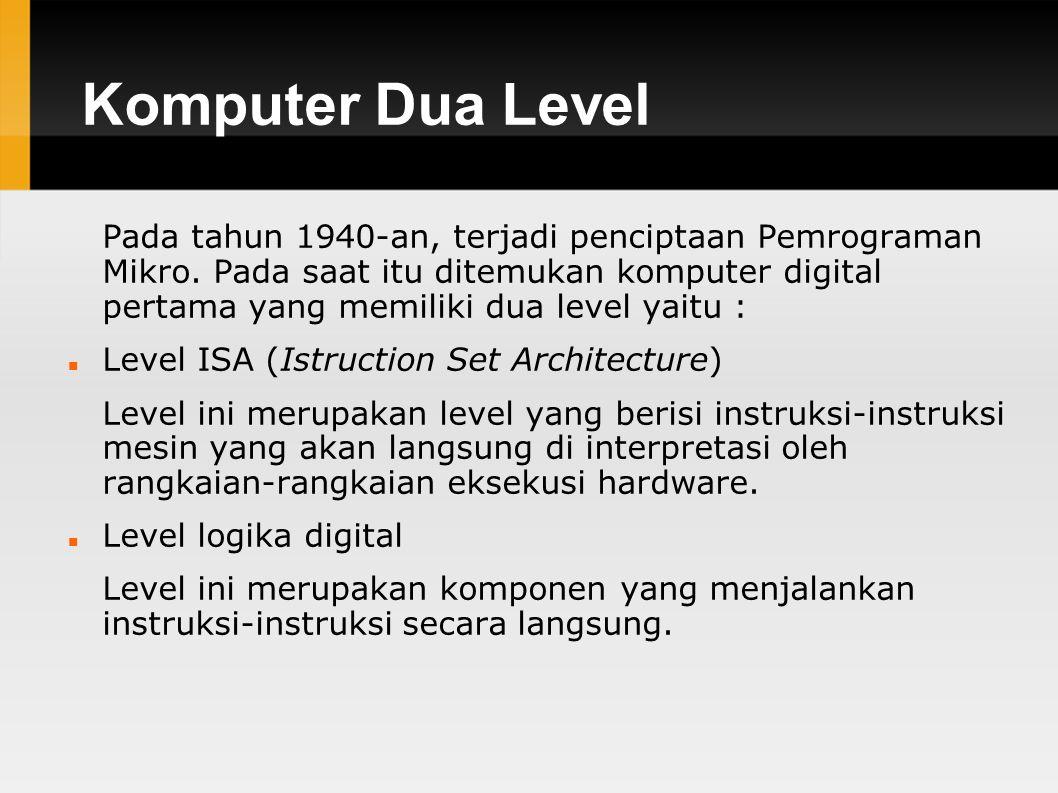 Komputer Dua Level