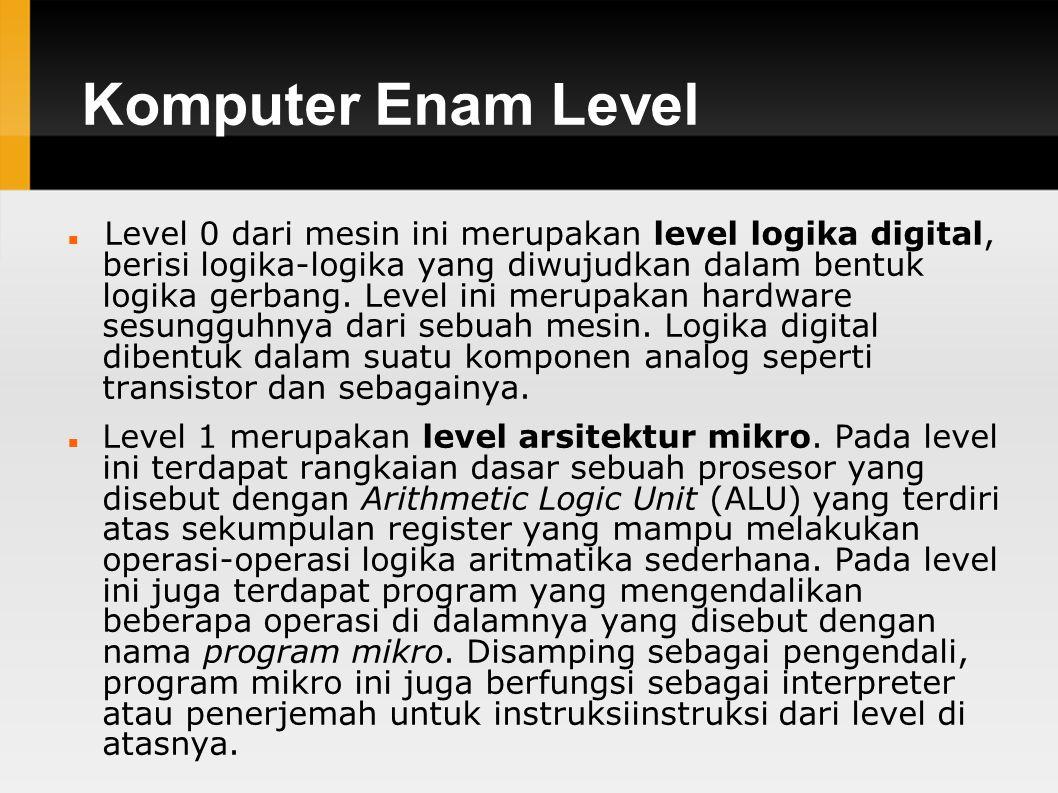 Komputer Enam Level