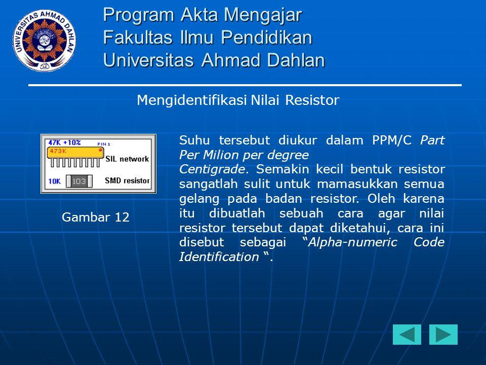 Program Akta Mengajar Fakultas Ilmu Pendidikan Universitas Ahmad Dahlan