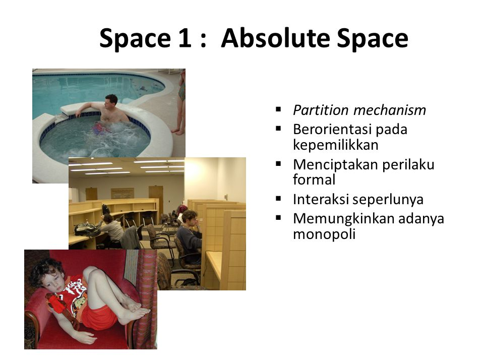 Space 1 : Absolute Space Partition mechanism