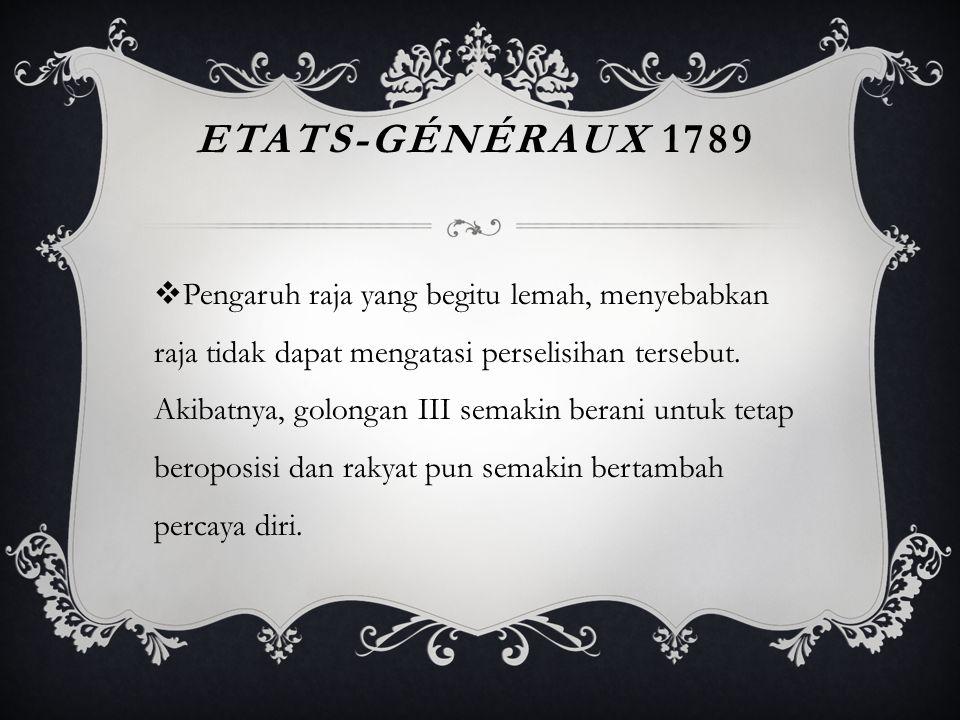 Etats-Généraux 1789