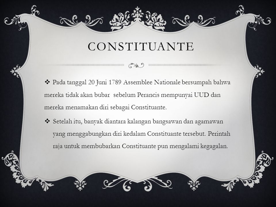 Constituante