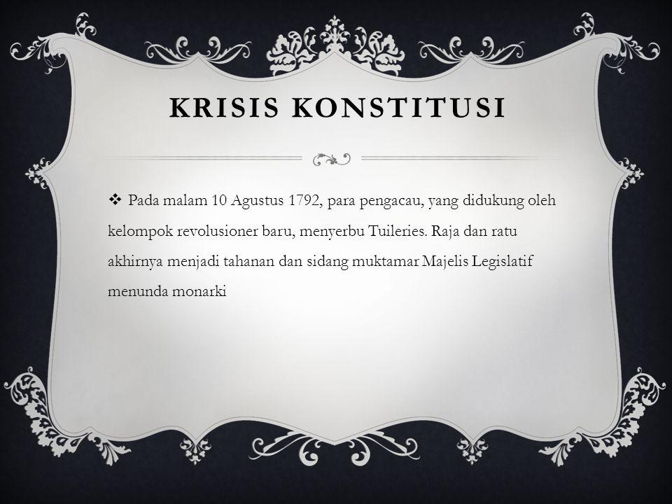 Krisis konstitusi