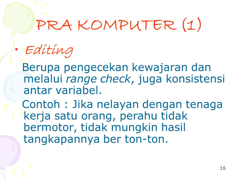 PRA KOMPUTER (1) Editing