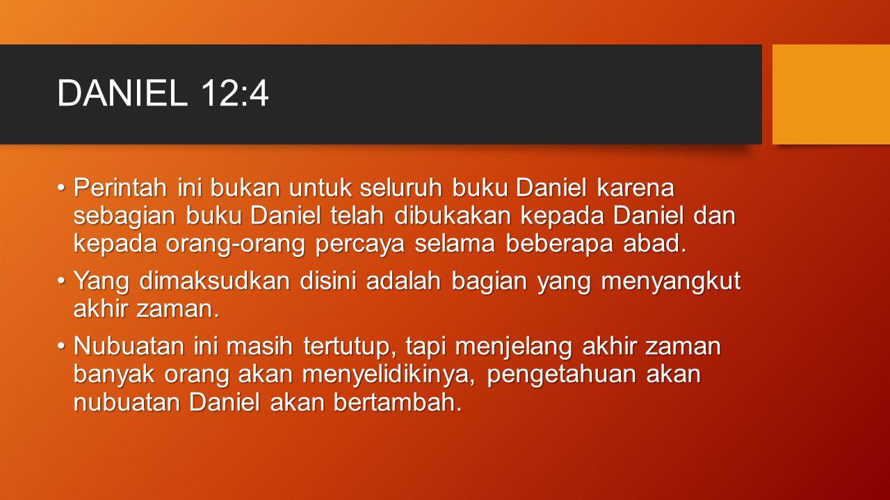 DANIEL 12:4