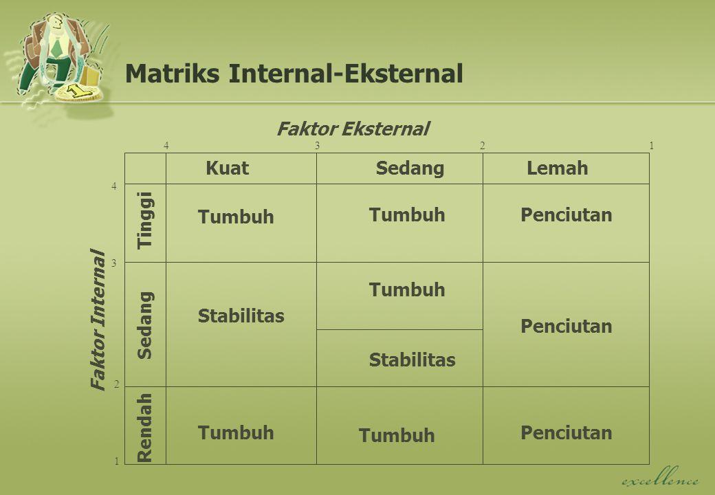 Matriks Internal-Eksternal