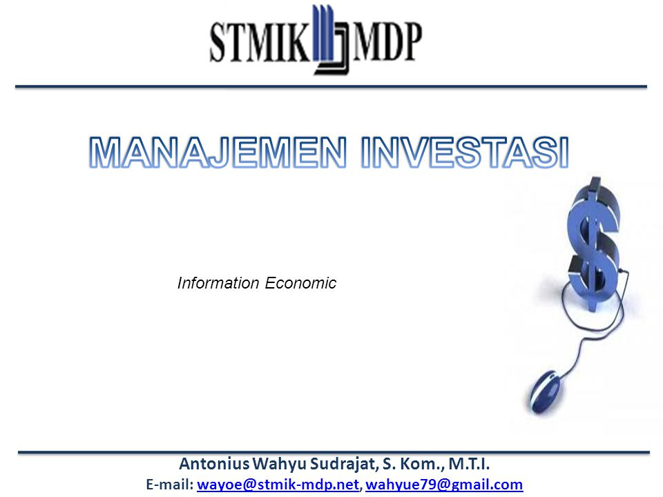 Information Economic