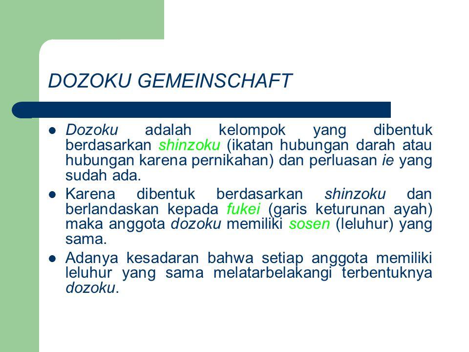 DOZOKU GEMEINSCHAFT