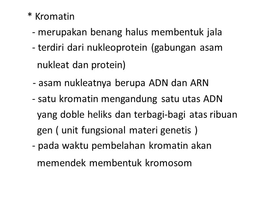 - asam nukleatnya berupa ADN dan ARN