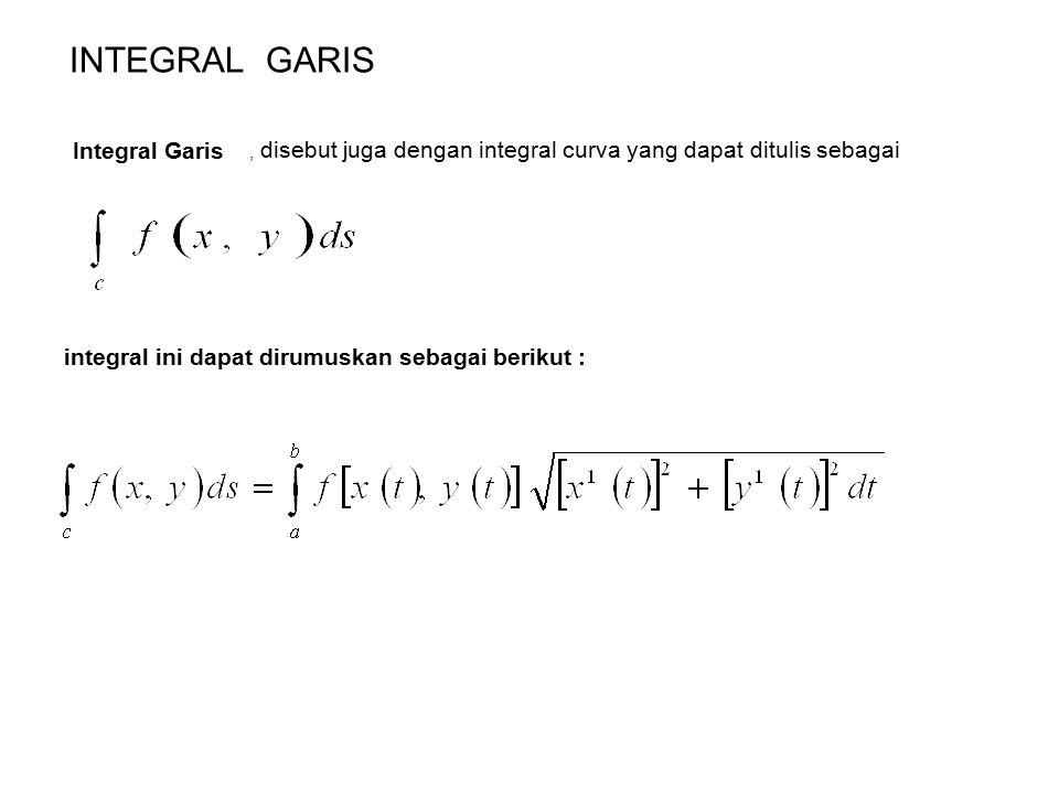 INTEGRAL GARIS Integral Garis