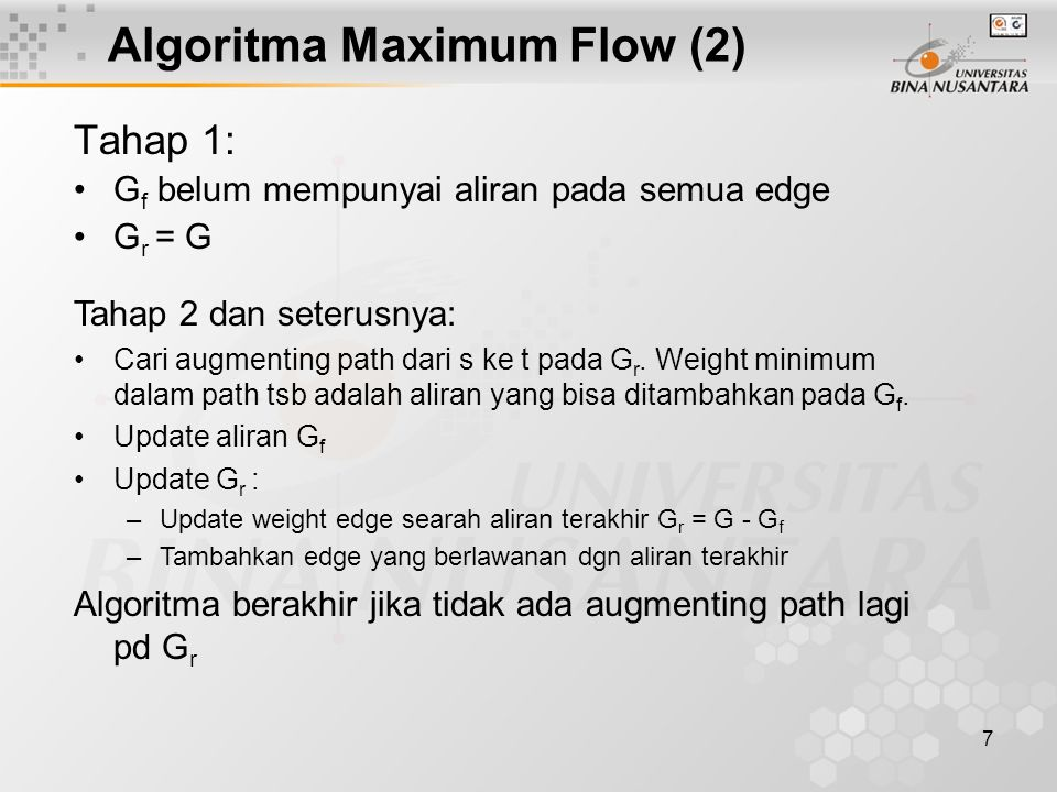 Algoritma Maximum Flow (2)