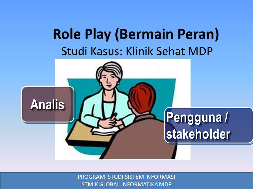 Role Play (Bermain Peran)