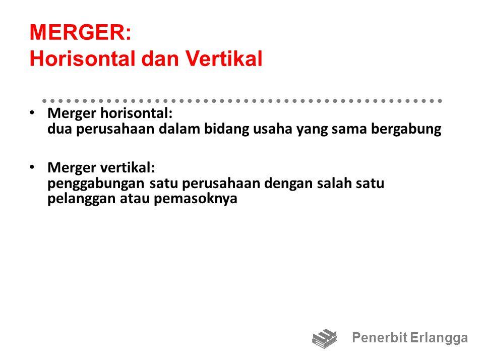 MERGER: Horisontal dan Vertikal