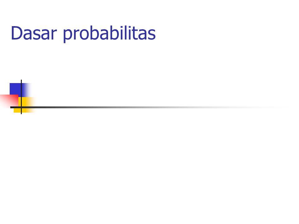 Dasar probabilitas