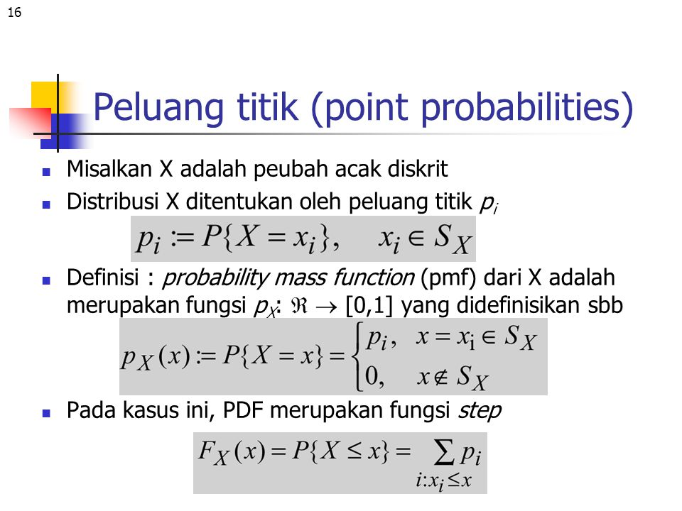 Peluang titik (point probabilities)