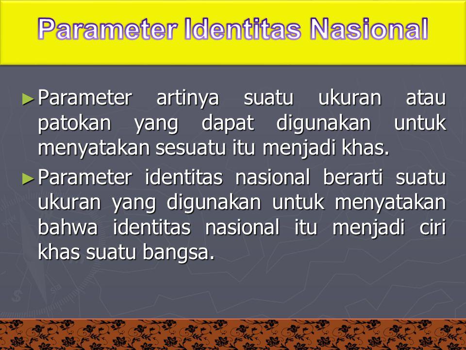 Parameter Identitas Nasional