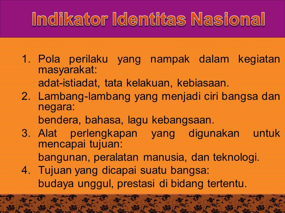 Indikator Identitas Nasional