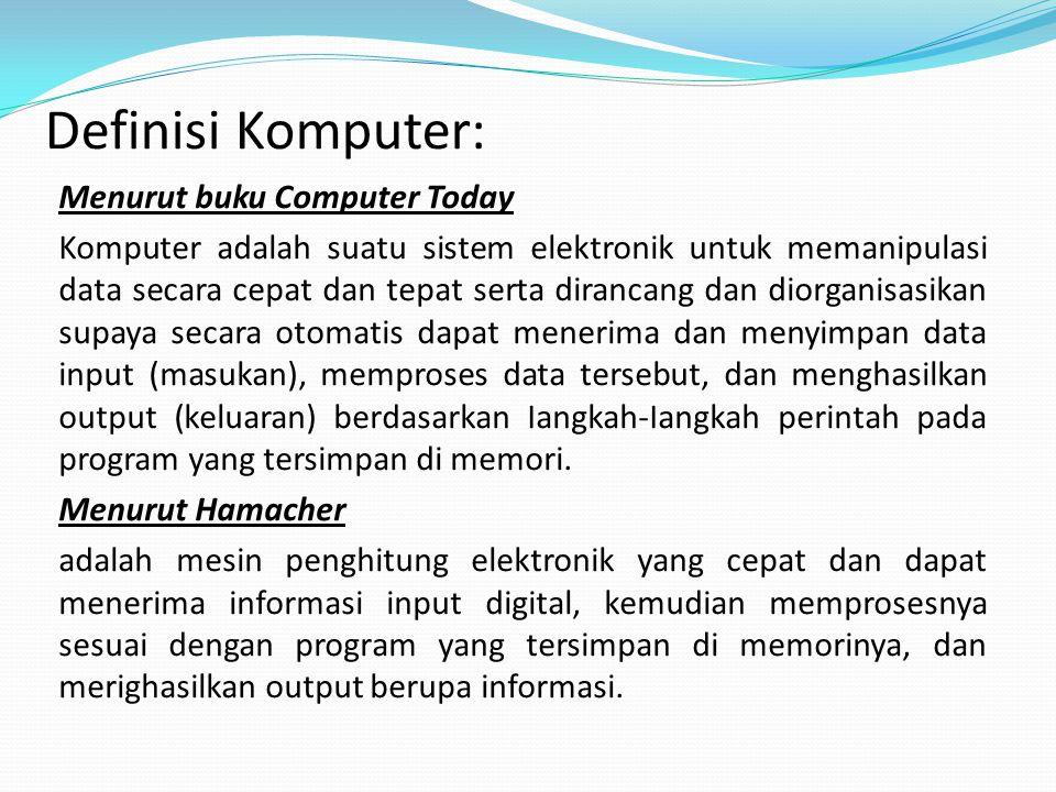 Definisi Komputer: