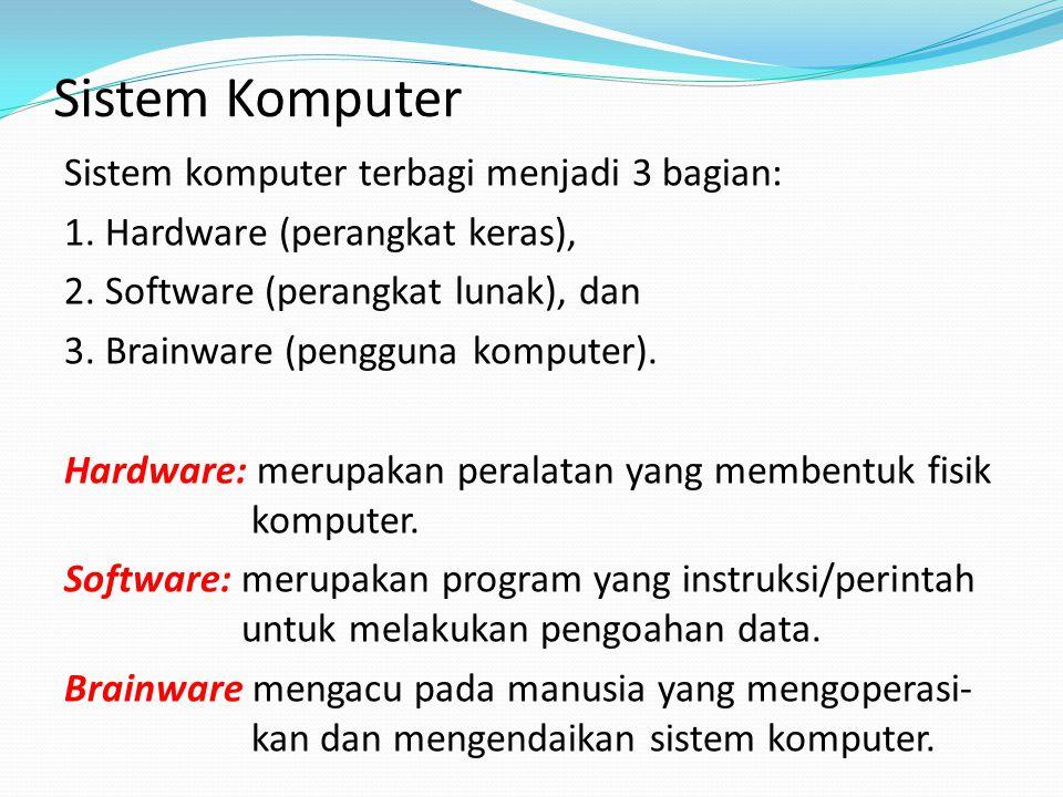 Sistem Komputer
