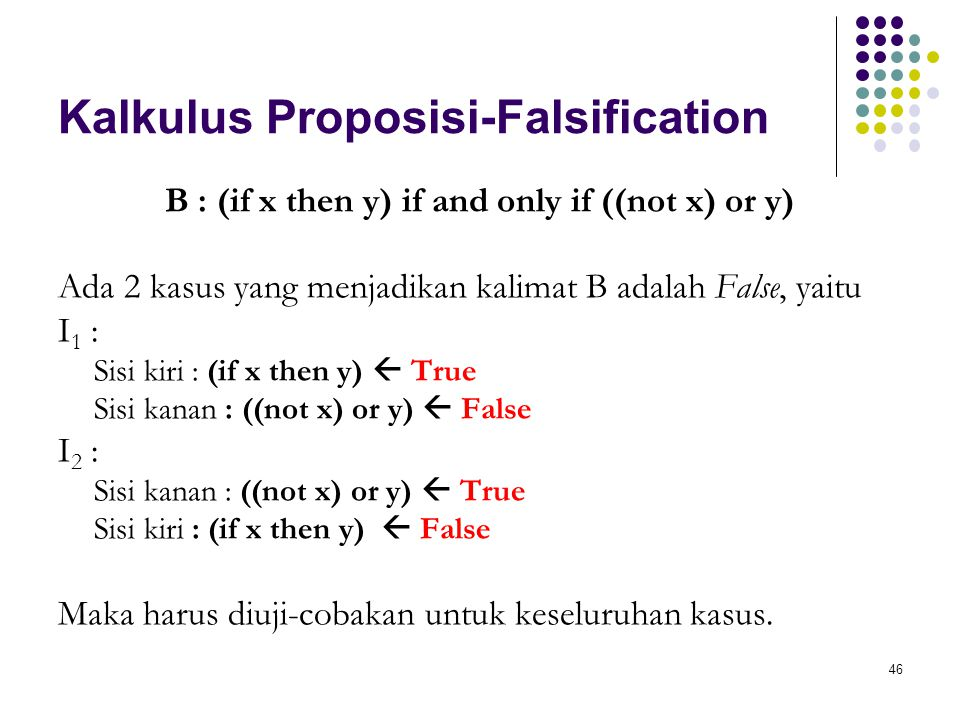 Kalkulus Proposisi-Falsification