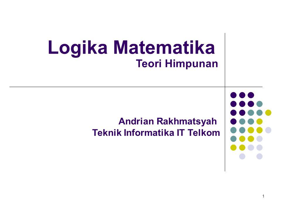 Logika Matematika Teori Himpunan